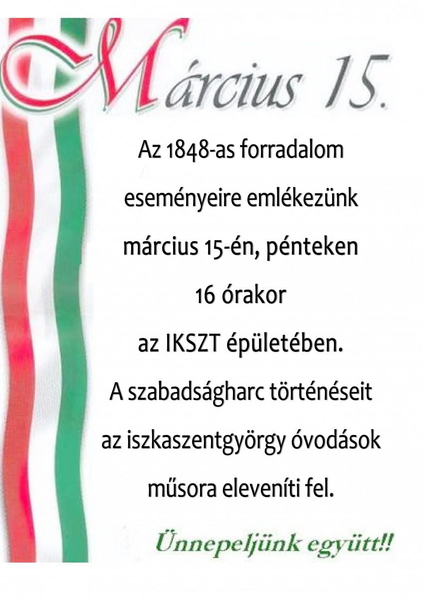 március 15 plakát