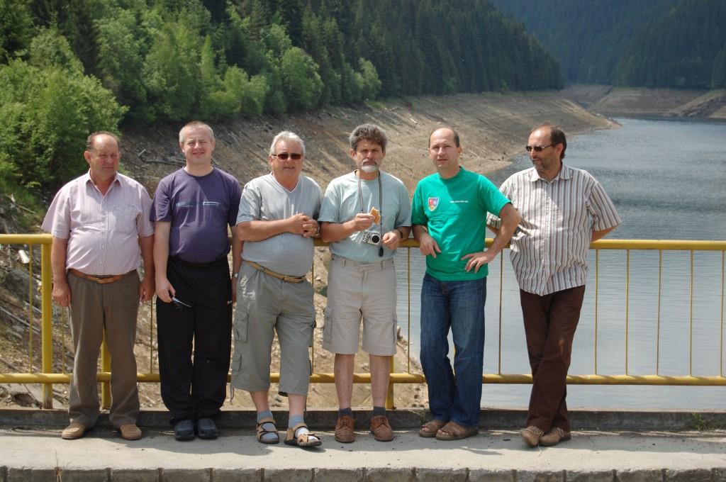 A 6 fős iszkaszentgyörgyi küldöttség