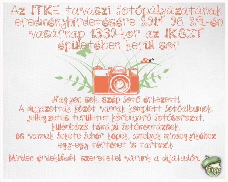 fotópályázat plakát